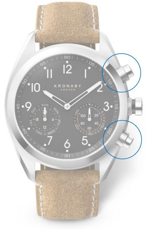 Chytré funkce hodinek Kronaby kolekce APEX_2