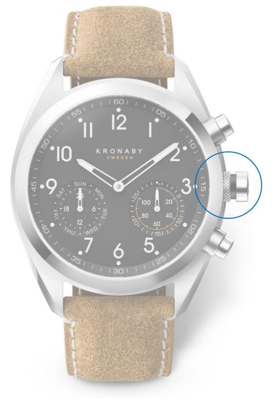 Chytré funkce hodinek Kronaby kolekce APEX
