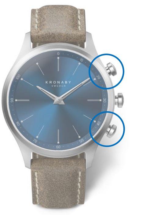 Funkce chytrých hodinek Kronaby kolekce Sekel_2
