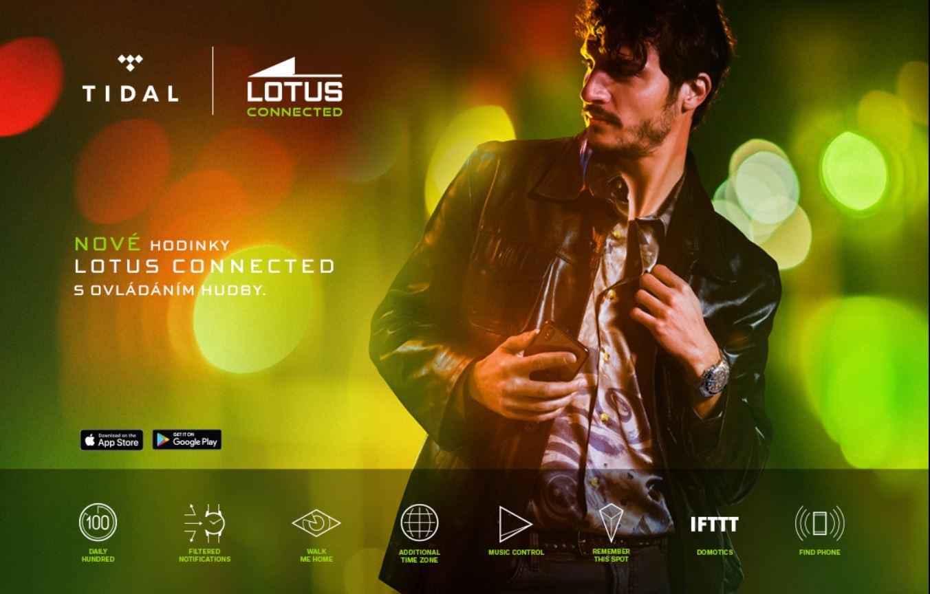 promo akce tidal - lotus connected